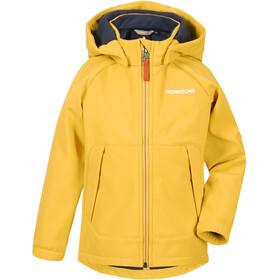 DIDRIKSONS Poggin 2 Softshell Jacket Kids mellow yellow